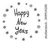 happy new 2016 year. holiday... | Shutterstock .eps vector #349914200