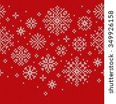 winter holiday sweater design.... | Shutterstock .eps vector #349926158