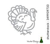 web line icon. turkey | Shutterstock .eps vector #349939733