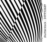 black striped background  | Shutterstock .eps vector #349953689