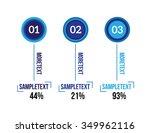 infographics vector... | Shutterstock .eps vector #349962116