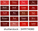 red tone color shade background ... | Shutterstock .eps vector #349974080