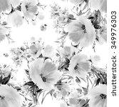 seamless pattern watercolor...   Shutterstock . vector #349976303