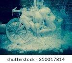 ice bike in minneapolis | Shutterstock . vector #350017814