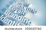 branding and identity | Shutterstock . vector #350020760