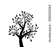 vector illustration   tree... | Shutterstock .eps vector #350033363