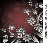 invitation or wedding card... | Shutterstock .eps vector #350047466