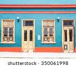 a house in lima  peru | Shutterstock . vector #350061998
