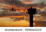 control tower | Shutterstock . vector #350063210