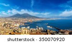 napoli  naples  and mount... | Shutterstock . vector #350070920