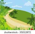 seasonal background | Shutterstock .eps vector #35012872