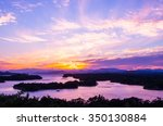 Small photo of Ago bay silhouette sunsetsky,mie tourism of japan