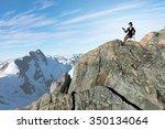 pretty girl wearing retro hat...   Shutterstock . vector #350134064