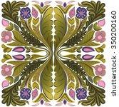 flower pattern   Shutterstock .eps vector #350200160