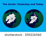 "map of the arctic ""yesterday... 