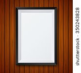 modern frame with shadow on... | Shutterstock . vector #350243828