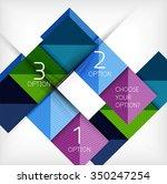 paper style design templates ... | Shutterstock .eps vector #350247254