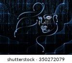 human geometry series. backdrop ...   Shutterstock . vector #350272079