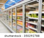 commercial refrigerators in a... | Shutterstock . vector #350292788