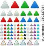 color metallic rounded triangle ...