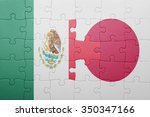 puzzle with the national flag... | Shutterstock . vector #350347166