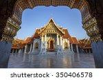 wat benchamabophit dusitvanaram ... | Shutterstock . vector #350406578