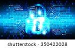 dark blue light abstract... | Shutterstock .eps vector #350422028