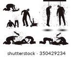 illustration of set of... | Shutterstock .eps vector #350429234
