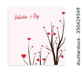 valentines day card | Shutterstock .eps vector #350429549