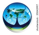Pro Earth Theme Vector Design