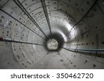 image of tunnel site... | Shutterstock . vector #350462720