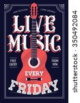 Постер, плакат: Cool Live Music Every