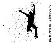 illustration of silhouette of...   Shutterstock .eps vector #350500190