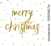 merry christmas background with ... | Shutterstock . vector #350508176
