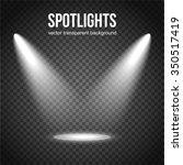 spotlight isolated on...   Shutterstock .eps vector #350517419