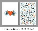 printable romantic and love... | Shutterstock .eps vector #350525366