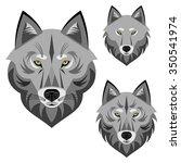 wolf | Shutterstock .eps vector #350541974