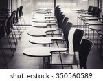 Lecture Room With Empty Seats...