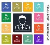 doctor icon | Shutterstock .eps vector #350574458