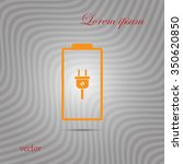 battery icons | Shutterstock .eps vector #350620850