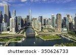 City Of Chicago Skyline Aerial...
