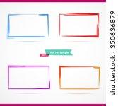 4 rectangles.vector illustration | Shutterstock .eps vector #350636879
