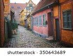 old houses in helsingor denmark | Shutterstock . vector #350643689