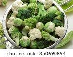 Broccoli  Cauliflower  Brussel...