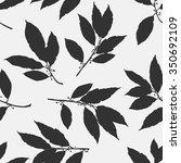 floral seamless pattern vector...   Shutterstock .eps vector #350692109