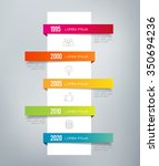 infographic timeline. can... | Shutterstock .eps vector #350694236