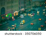 Night City Life Blurred Background - Fine Art prints