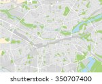 vector map of the city of... | Shutterstock .eps vector #350707400
