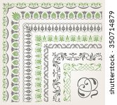 decorative seamless islamic... | Shutterstock .eps vector #350714879
