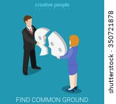 find common ground flat 3d...